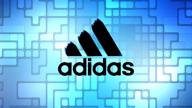 Adidas logo for team sports logo builder.